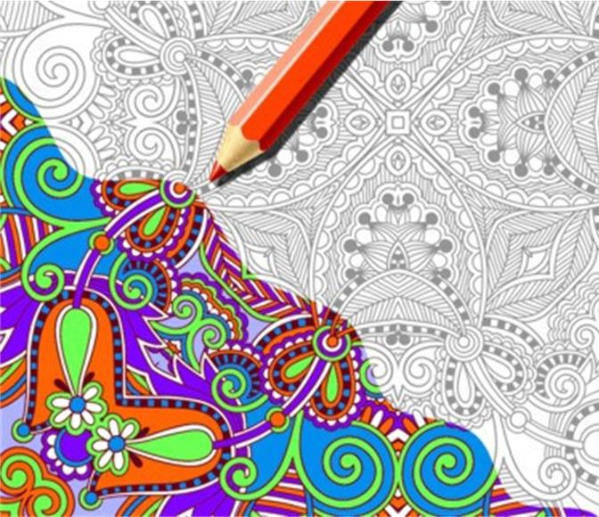 Color Me Calm - Adult Coloring Group @ Library Meeting Room | San Rafael | California | United States