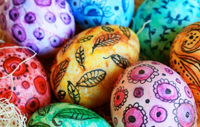 Faux Ukrainian Egg Decorating for Adults and Teens @ Library Meeting Room | San Rafael | California | United States