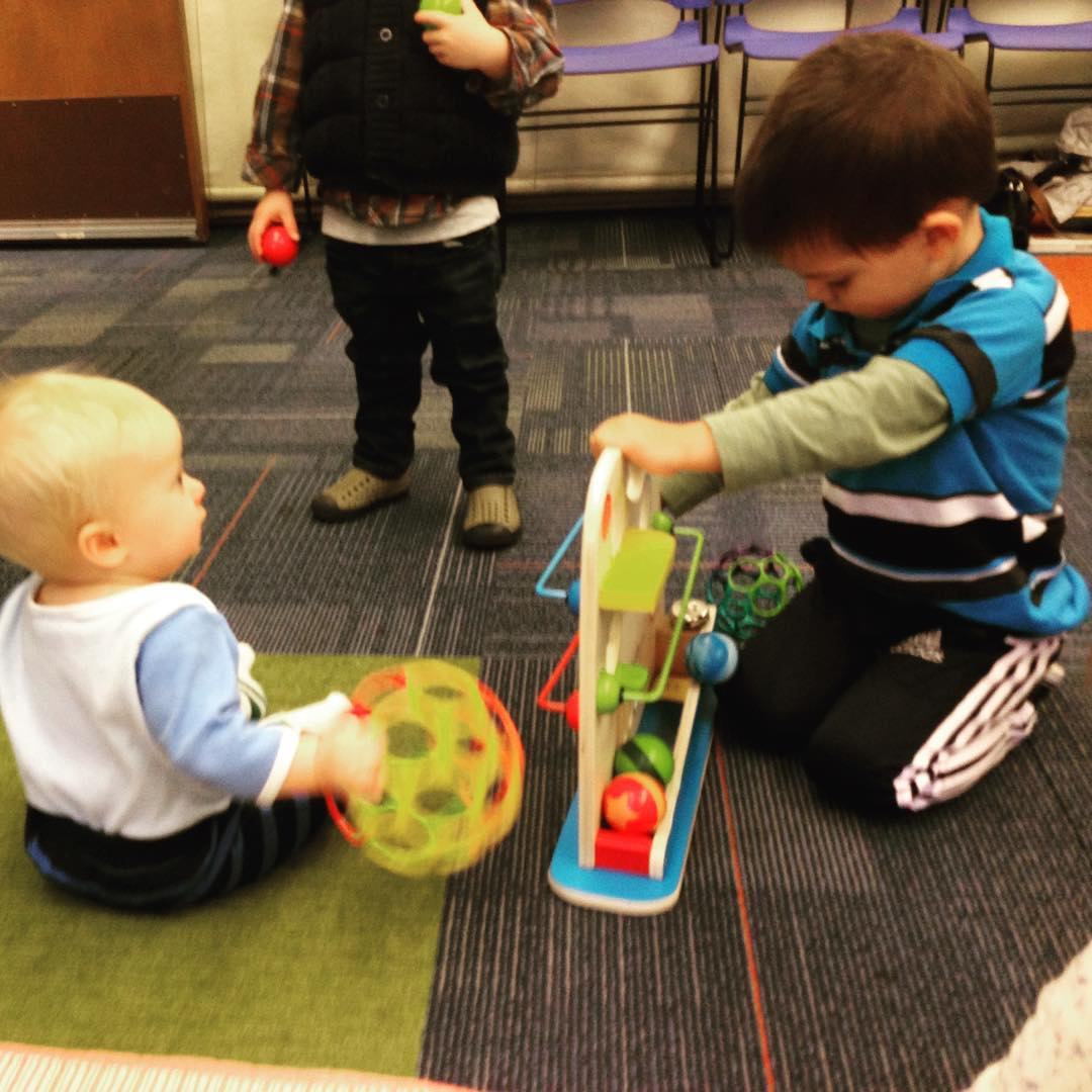 Stay & Play @ San Rafael Public Library | San Rafael | California | United States