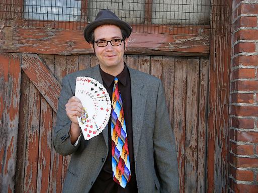 Magician Mike Della Penna @ San Rafael Public Library