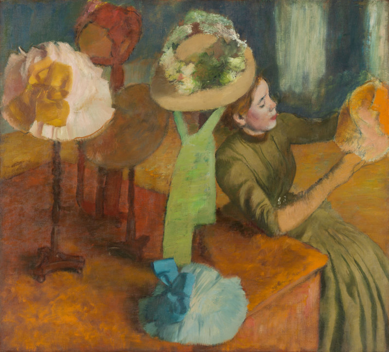 First Wednesday Art Talk - Degas, Impressionism and the Paris Millinery Trade @ City Hall Council Chambers | San Rafael | California | United States
