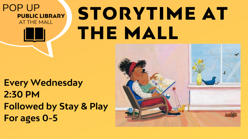 Family Storytime at the Mall @ Library Pop-up