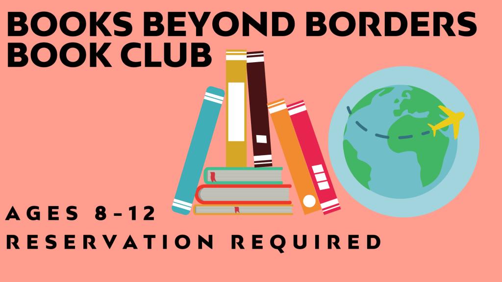 Books Beyond Borders Book Club @ Pickleweed Library