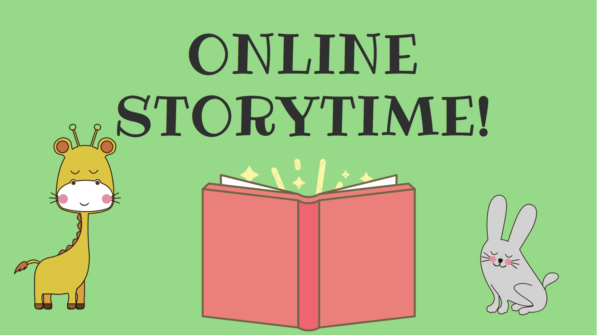 Online Story Time @ Online!