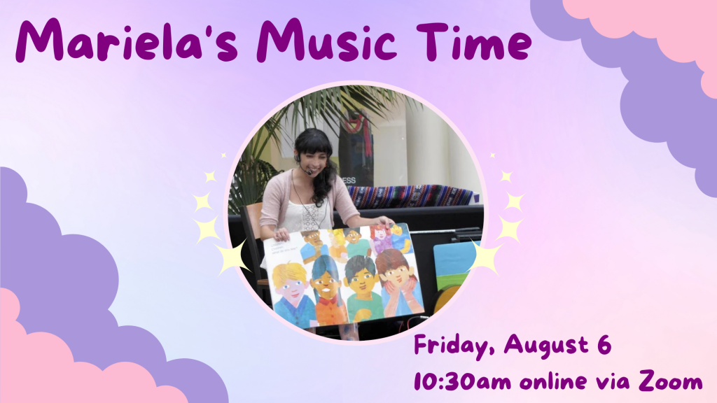 Mariela's Music Time @ Zoom