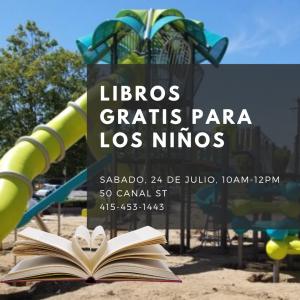 Libros Gratis Para los Niños @ Pickleweed Park